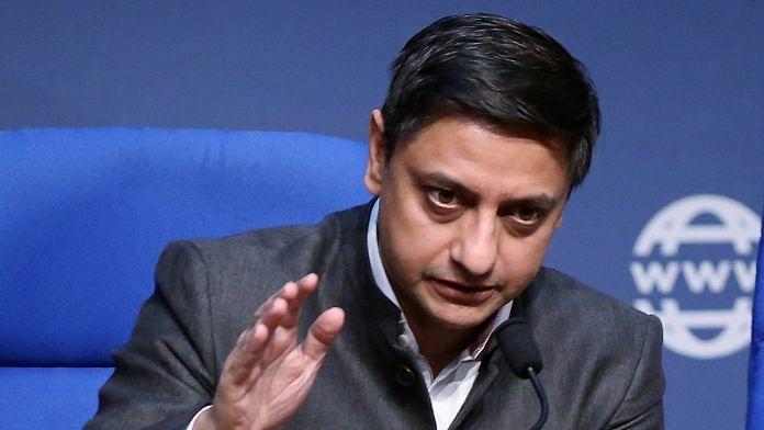 File image of Principal Economic Advisor Sanjeev Sanyal | Photo: ANI
