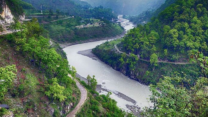 The Mahakali River on which the Pancheshwar project is to be built | wikimedia commons