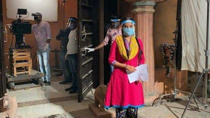 Shoot on the sets of 'Gudiya Humari Sabhi Pe Bhari' gets under way in Mumbai | Photo by special arrangement