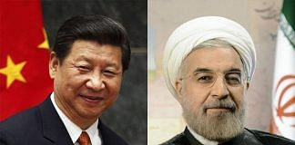 Chinese President Xi Jinping and Iranian President Hassan Rouhani | ThePrint Team