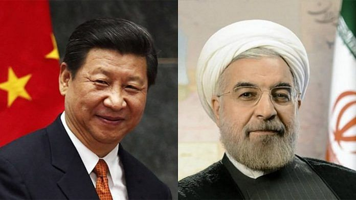 Chinese President Xi Jinping and Iranian President Hassan Rouhani   ThePrint Team