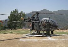 Representational image. A file photo of an Indian Air Force Cheetah helicopter. | Photo: Commons