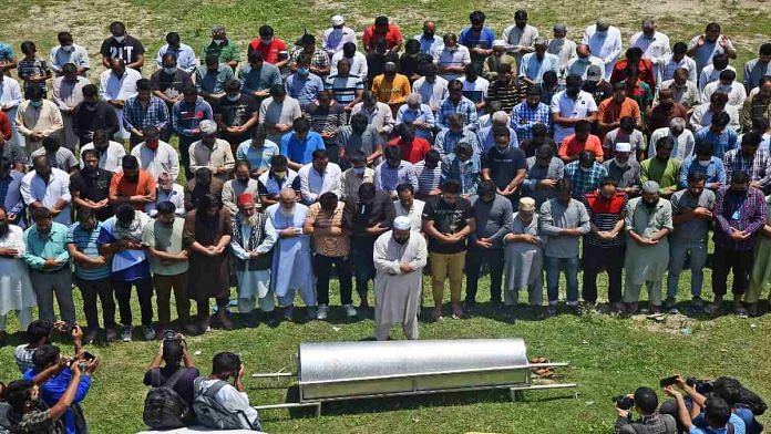 Bashir Ahmed Khan is laid to rest Wednesday | ANI