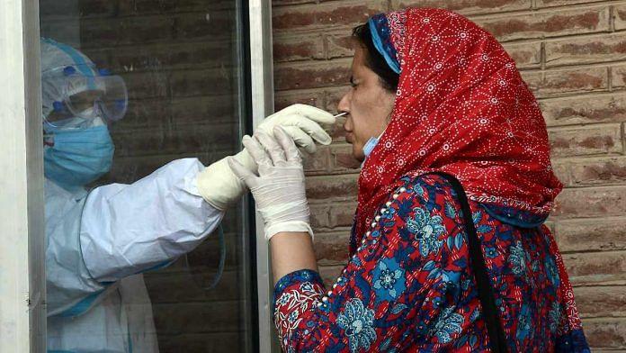 Covid-19 testing in Srinagar, Kashmir   Representational photo   ANI