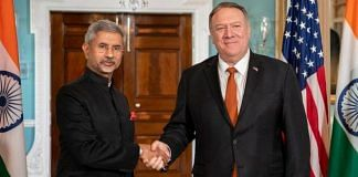 File photo of External Affairs Minister S. Jaishankar with his US counterpart Mike Pompeo   @SecPompeo   Twitter