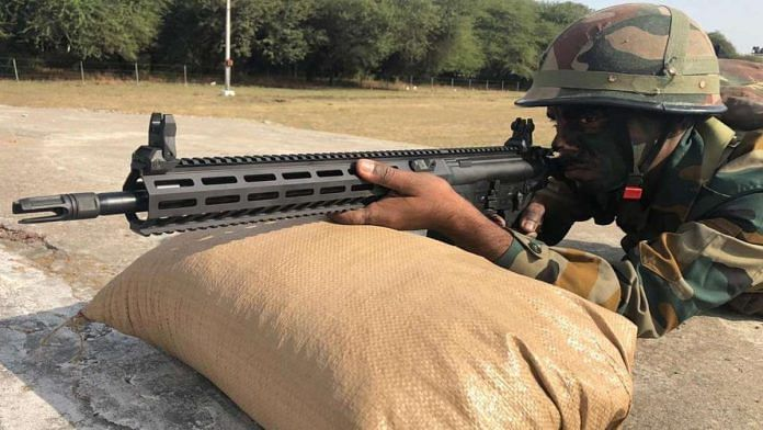 The new SiG 716 G2 rifles in use with the Indian Army | By special arrangement
