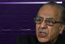 A file photo of Congress leader Saifuddin Soz. | Photo: ANI