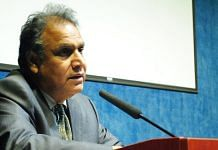 A file photo of former UGC chairman Sukhadeo Thorat.   Photo: Commons
