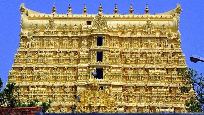 Sree Padmanabhaswamy Temple in Thiruvananthapuram.   Photo: Commons