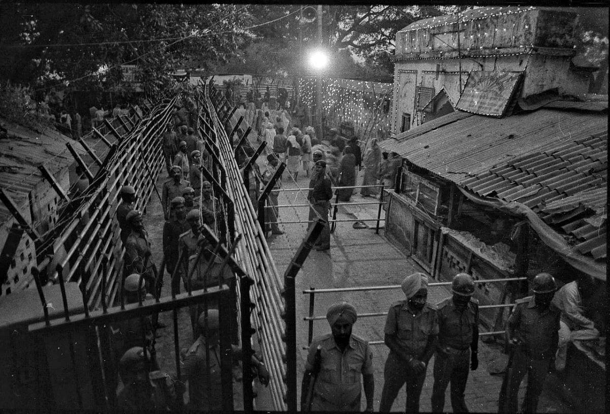 The night before the demolition   Photo: Praveen Jain   ThePrint