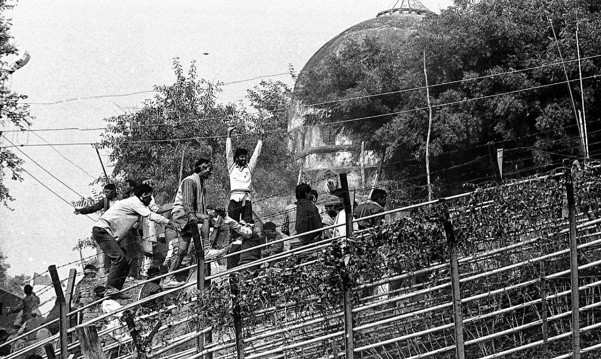On 6 December, Kar Sevaks demolished the Babri Masjid   Photo: Praveen Jain   ThePrint