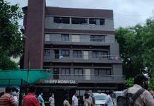 Shrey Hospital in Navrangpura area of Ahmedabad | Twitter