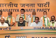 Five ex-Congress MLAs of Manipur join BJP | Twitter
