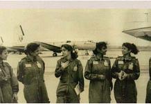 File photo   First batch of women pilots on Transport Aircraft (1994)   Source: I.K. Khanna