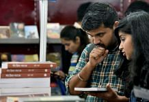 Readers exploring Hindi books at the World Book Fair in New Delhi in January (for representation) | Photo: ANI