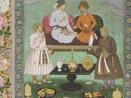 Representational image | Jahangir Entertains Shah Abbas ca 1620 | Wikimedia Commons