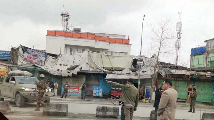The gurudwara in Kabul that was bombed in March | Photo: ANI