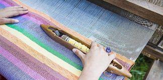 File photo | Khadi loom weaving | Pikist
