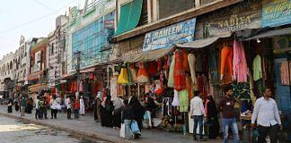 File photo of a market in Laad Bazar, Hyderabad | Suraj Singh Bisht | ThePrint