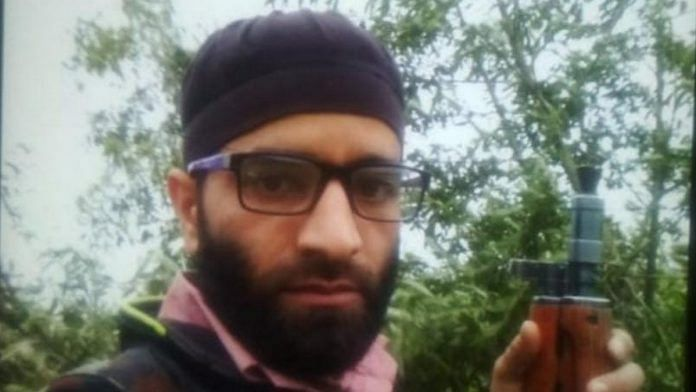LeT commander Sajjad Haider, who hailed from Sopore, was killed in Baramulla Monday | By special arrangement
