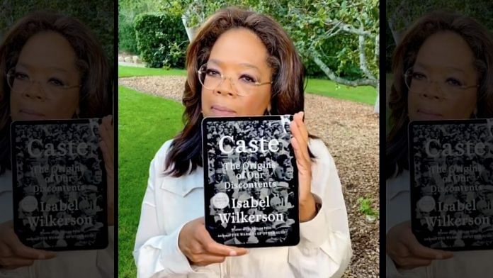 Oprah talks about Isabel Wilkerson's book | Instagram/oprah