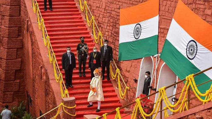 Need to Make in India to make for the world' — Modi's I-Day call for Atmanirbhar Bharat