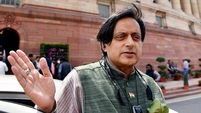 Shashi Tharoor, the Congress MP from Thiruvananthapuram | File photo: ANI