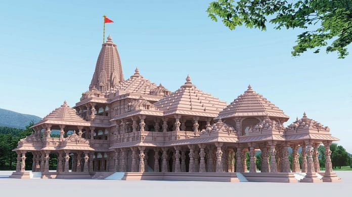 A 3-D image of the proposed Ram Mandir at Ayodhya | By special arrangement