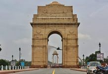 Preparations under way in New Delhi's India Gate ahead of the 74th Independence Day celebrations | Photo: Suraj Singh Bisht
