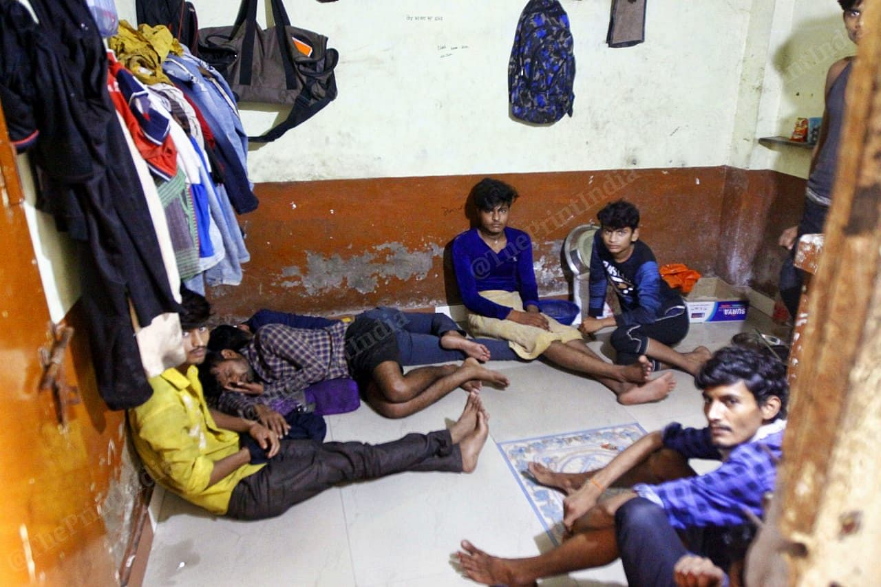 Most of the migrant workers are lodged in one-room tenements in Surat | Photo: Praveen Jain | ThePrint