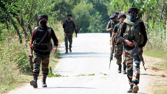 Representational image for Indian Army personnel in Kashmir   Photo: ANI