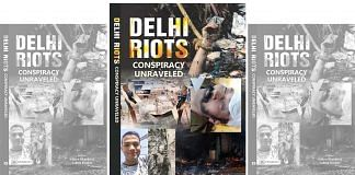 The cover of Delhi Riots: Conspiracy Unravelled. | Photo: Special arrangement