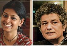 Indian filmmaker Nandita Das and British-Pakistani writer Mohammed Hanif were two of the panelists of the cross-border webinar | Photos: Wikimedia Commons