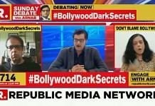 A screengrab of a Republic TV show on Bollywood and Sushant Singh Rajput's death | File image