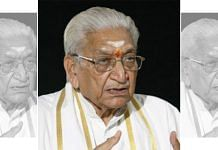 A file photo of former VHP chief Ashok Singhal. | Photo: Commons