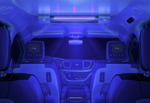 Voyage's self-driving cars will now be fitted with UV light emitters. | news.voyage.auto