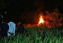 The victim was cremated near wheat farmland few metres away from her home | Photo: Manisha Mondal | ThePrint