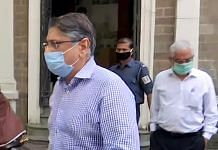File photo of Deepak Kochar, husband of former ICICI Bank MD & CEO Chanda Kochar, being taken to PMLA (Prevention of Money Laundering Act) Court from the Enforcement Directorate office, in Mumbai | ANI Photo