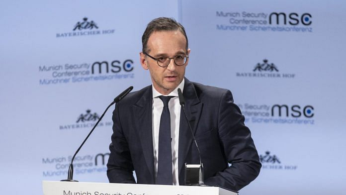 File photo of Heiko Maas, Germany's foreign affairs minister. | Photographer: Alex Kraus | Bloomberg
