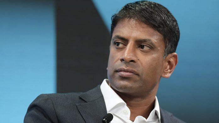 File photo of Novartis AG Chief Executive Officer Vas Narasimhan | Bloomberg