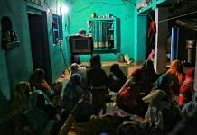 Relatives of the victim waited for her body in vain at her home in Boolgarhi, Hathras | Manisha Mondal | ThePrint