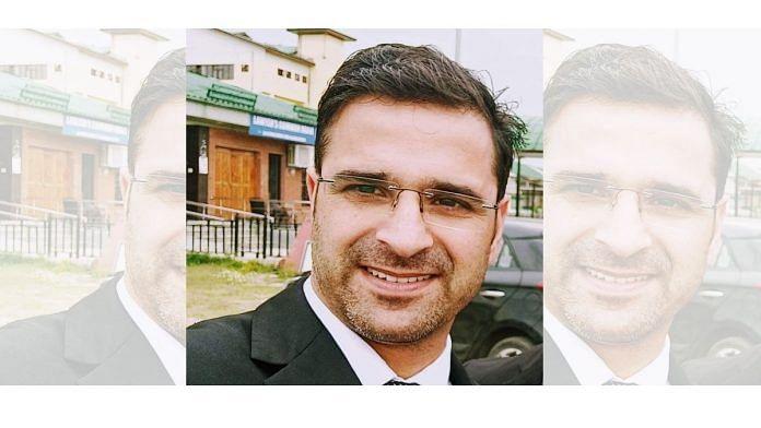 Srinagar lawyer Babar Qadri | By special arrangement