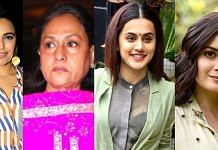(L-R) Swara Bhasker, Jaya Bachchan, Taapsee Pannu, Dia Mirza   Commons
