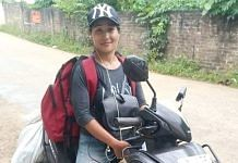woman delivery agent