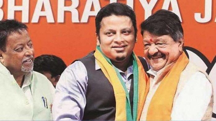 File photo of BJP leader Anupam Hazra | Twitter/@DipakDaCob