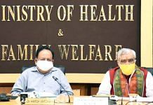 File image of Union Health Minister Dr Harsh Vardhan (left) and MoS Ashwini Kumar Choubey   Photo: ANI