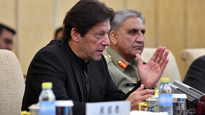File photo | Pakistan PM Imran Khan with Gen Qamar Javed Bajwa | Facebook/ImranKhanOfficial