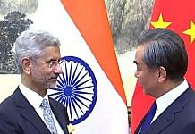 File image of India's External Affairs Minister S. Jaishankar and Chinese foreign minister Wang Yi | Photo: ANI