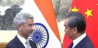 File image of India's External Affairs Minister S. Jaishankar and Chinese foreign minister Wang Yi   Photo: ANI