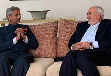 File image of India's External Affairs Minister S. Jaishankar (left) with his Iranian counterpart Javad Zarif   Photo: ANI